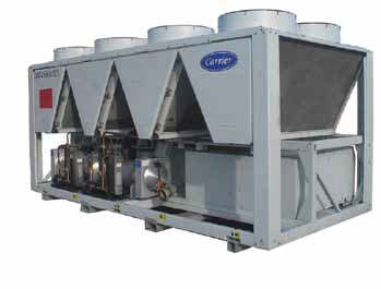 Carrier Rental Systems chillery 400-500kW