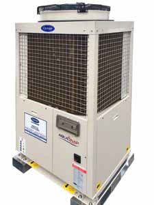 Carrier Rental Systems chillery do 40kW